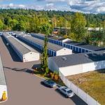 storage in kent aerial view
