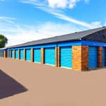 kent self storage row of units